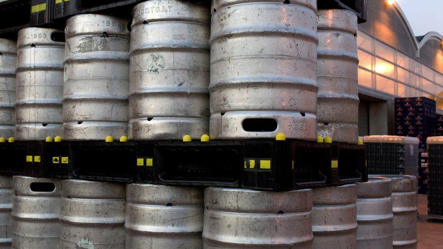 fûts de bière